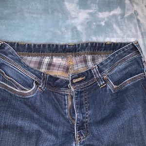 Carhartt flannel lined jeans